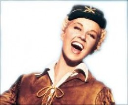 The other Clamity:  Doris day from the movie of the same name...Calam. would have loved those teeth!