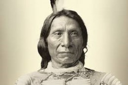 Red Cloud.  Great warrior chief of the Sioux