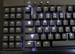Many keyboards allow you to fully customize the backlighting. This makes it easy to see your most used keys in the dark.