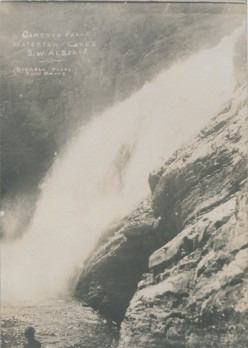 Cameron Falls, Waterton Lakes