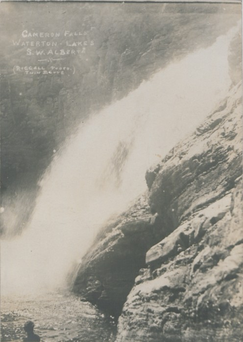 Cameron Falls, Waterton Lakes
