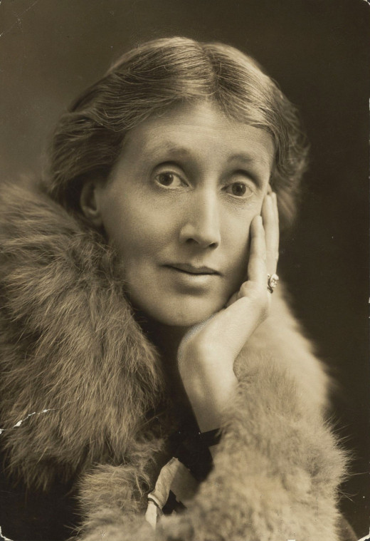 Famous for her experiments with stream of consciousness, depicting emotions and thoughts in an innovative way, Woolf committed suicide at the age of 59, filling her overcoat's pockets with stones and walking into a river near her house.