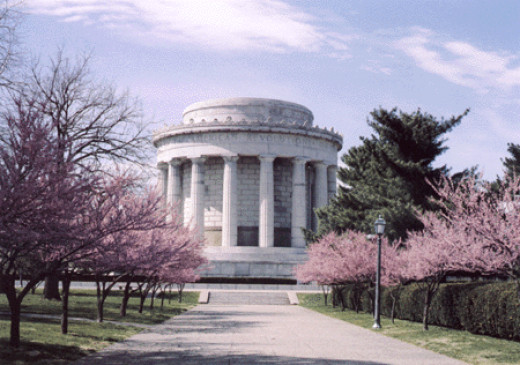 The George Rogers Clark Memorial in Vincennes, Indiana