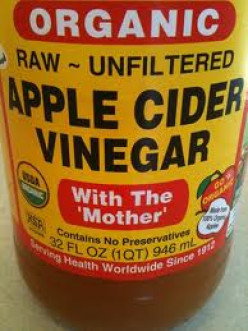 "What does ""With the Mother"" mean on an Apple Cider Vinegar bottle?"