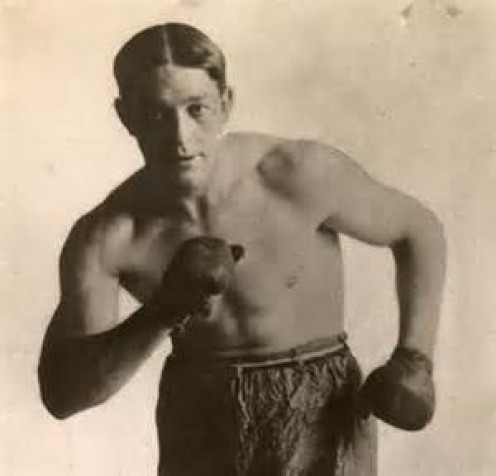 Stanley Ketchel is the former middleweight champion and most rank him as a top ten best fighter pound for pound in history.