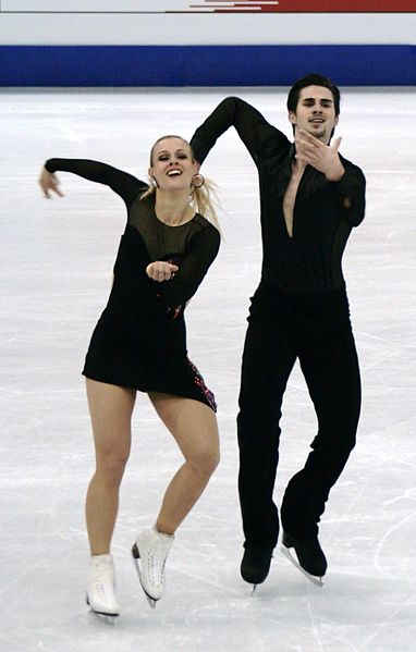 Former US Bronze medalists Madison Hubbell and Zachary Donahue.