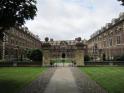 St Catharine's College, Cambridge, England.