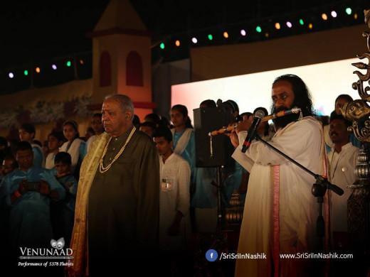 Sri Sri Ravi Shankar & Pt. Hariprasad Chaurasia