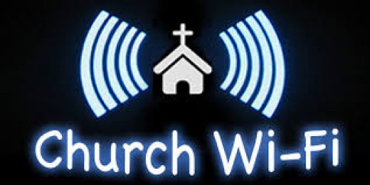 Worshipers hide, seek and dial.