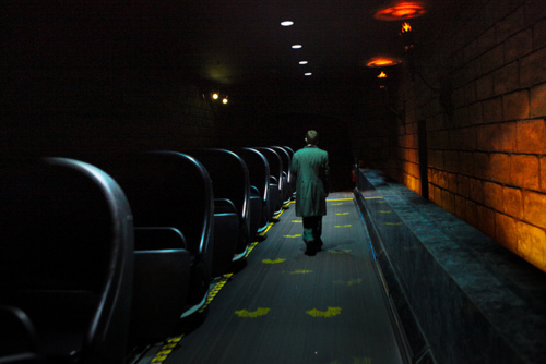 Is it possible that an Imagineer himself haunts the halls of this beloved Walt Disney World attraction?