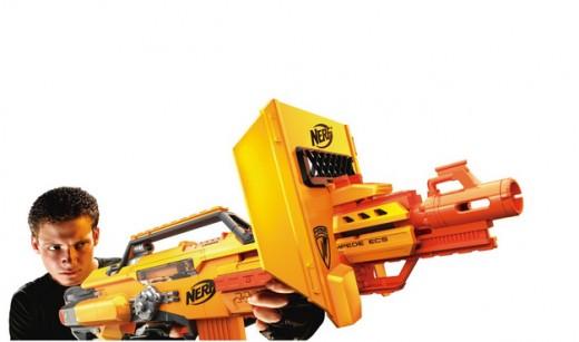 Nerf Stampede machine gun