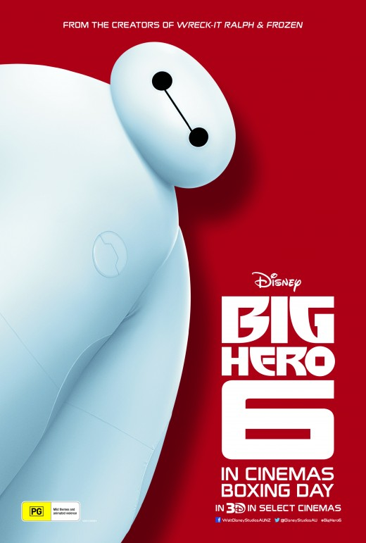 Movie poster of Big Hero 6