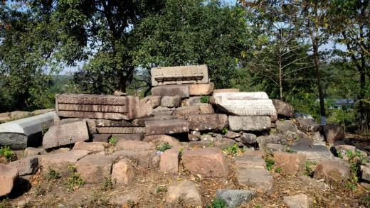 Ruins of Bamuni hills