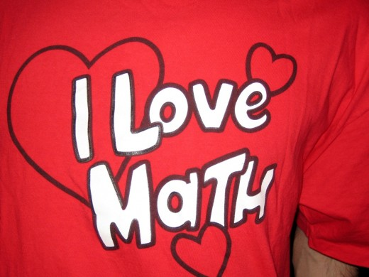 Deep down inside, we all kinda love math -- some of us more than others.