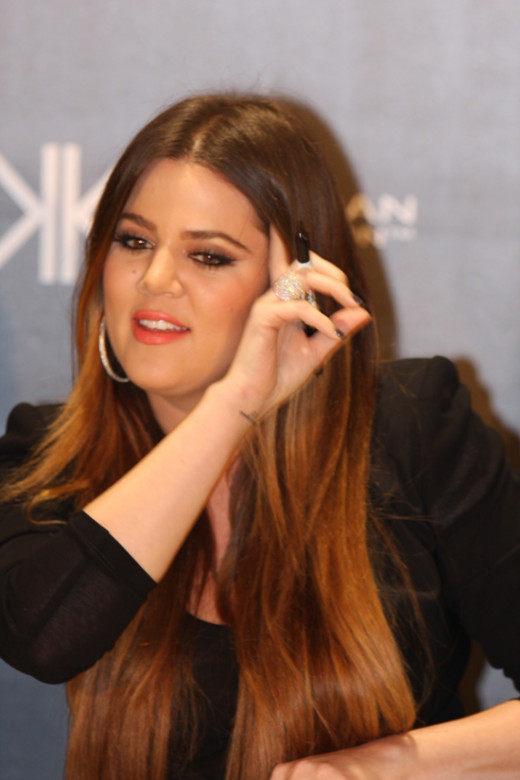 The beautiful Khloe Kardashian