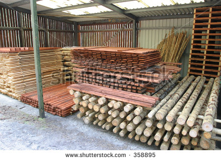 Natural Seasoning of timber