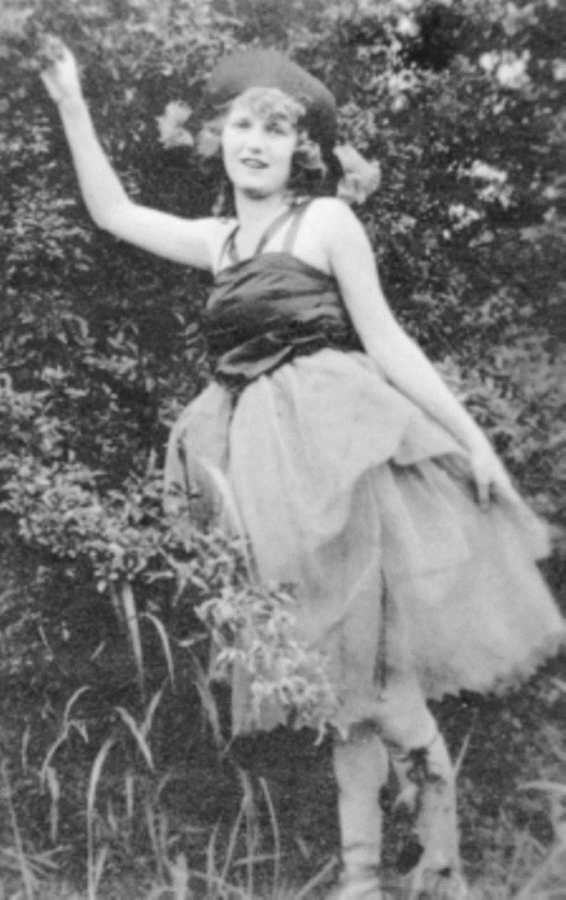 Zelda Sayre Fitzgerald born July 24 1900 died March 10 1948 was the wife of writer F. Scott Fitzgerald. This picture is her at aged 16 in her dance costume