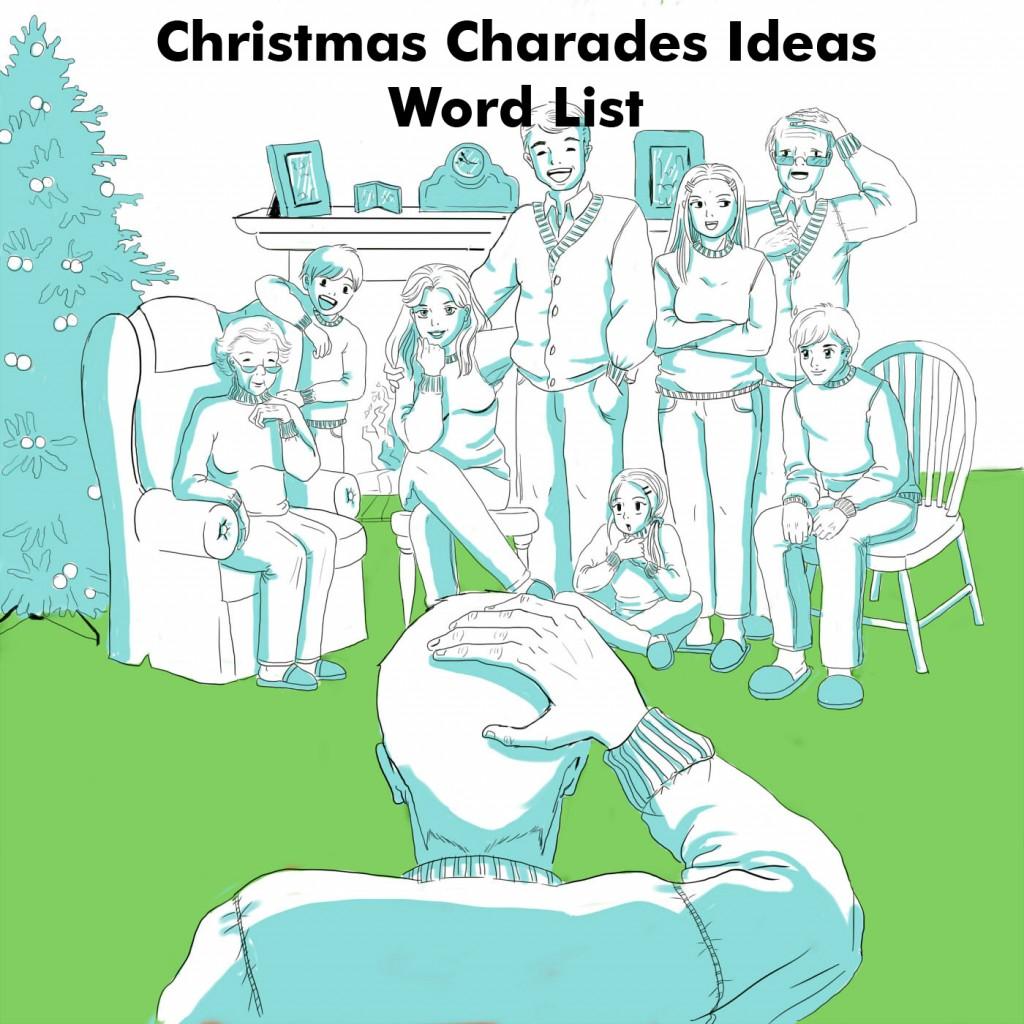 Family Game Night Ideas: Christmas Charades Ideas Words List