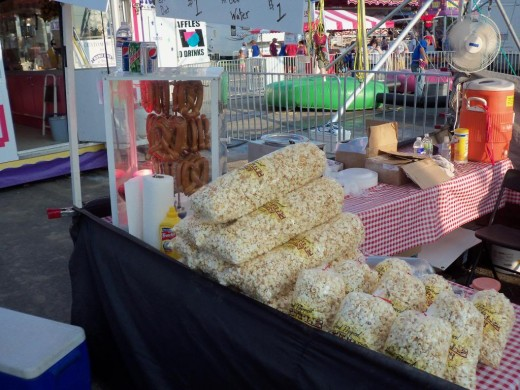Kettle Corn at stand in NY