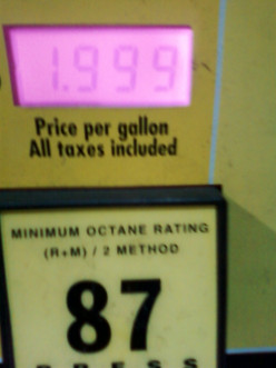 Why is the cost of a quart of motor oil still over $5, when a gallon of gasoline is now under $2?