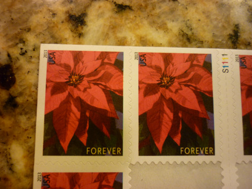 Christmas Forever Stamp 2014
