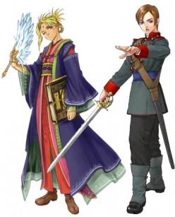 Suikoden V: Lelei and Lucretia