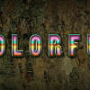 Quick Tip-Create Awesome Colorful Text with Tree Bark Texture and Layer Styles