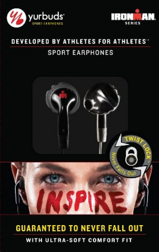 Great fitting headphones for riding- The Yurbuds Ironman Inspire