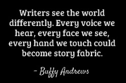 Writers have a different mind.