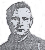 A image of McCurdy, possibly from his 'Wanted' poster.