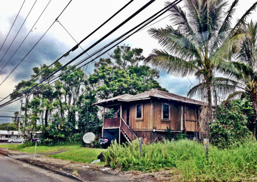 Old Hawaiian Cottage in Hilo