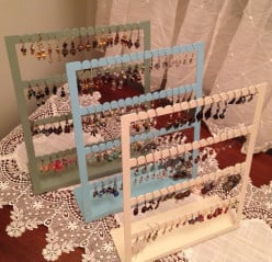 Earring Stands |  Custom Stands Designed to Display My Hand Crafted Earrings