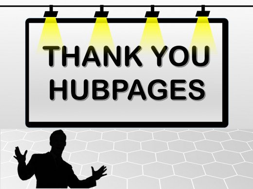 Thank you HubPages