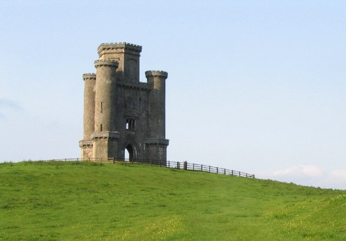 Paxton's Tower. A publicly accessible folly