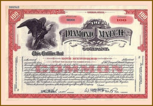 The Diamond Match Company was founded by O.C. Barber and was first called the Barber Match Company, was the largest manufacturer of matches in the United States in the late nineteenth century. The Diamond Match Company first operated plant was built