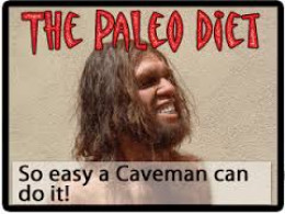 This is a picture of a cavemean since they ate a paleo diet.