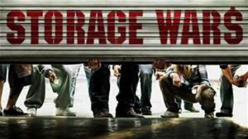 Storage Wars is a reality show about storage auctions. It has produced several spin offs.