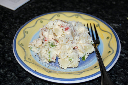 Recipe for German Potato Salad