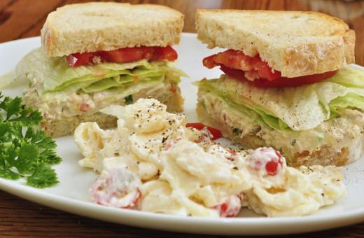 Healthy Tuna Salad Sandwich Recipe