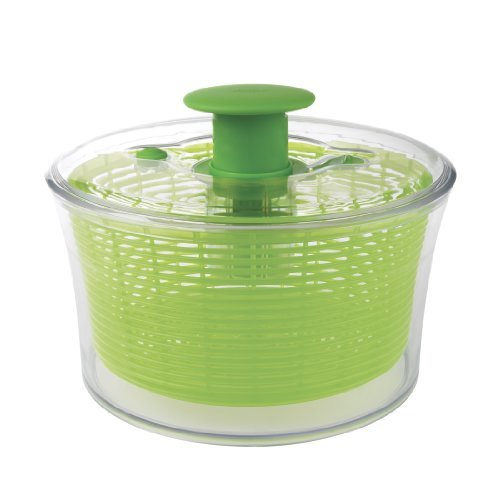 The OXO brand salad spinner is a popular and highly rated kitchen gadget.