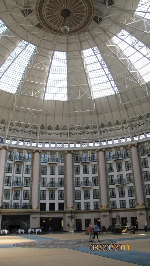 Atrium at West Baden Springs Hotel at the French Lick Resort
