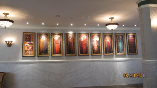 Artwork at French Lick Resort