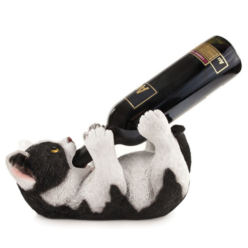 klutzy kitty bottle holder