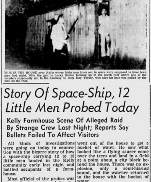 Newspaper Clipping from the real-world incident