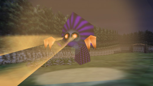 Aliens in Legend of Zelda: Majora's Mask