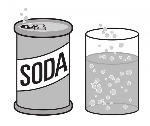 The fizzing gas coming out of soda is actually Carbon Dioxide.