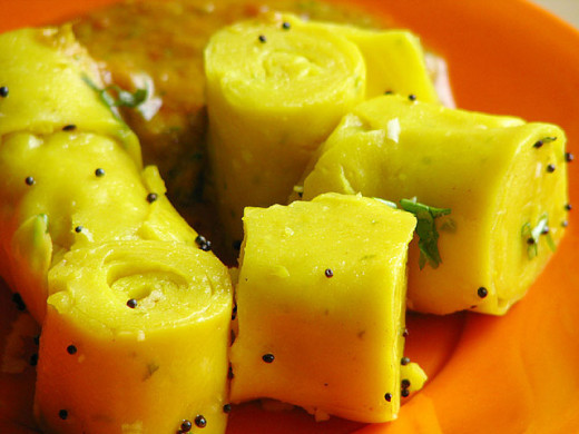 Gujarati Delicacy - Dhoklas