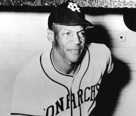 Negro League Legend Buck O'Neill.  He was denied his chance to play in the Major Leagues.
