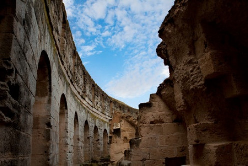 El Djem is more complete than Rome's Colosseum