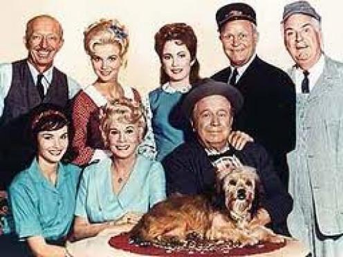 Cast of CBS' Petticoat Junction